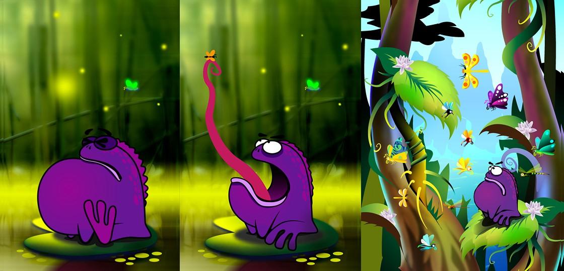 Разработка концепта игры и игрового персонажа