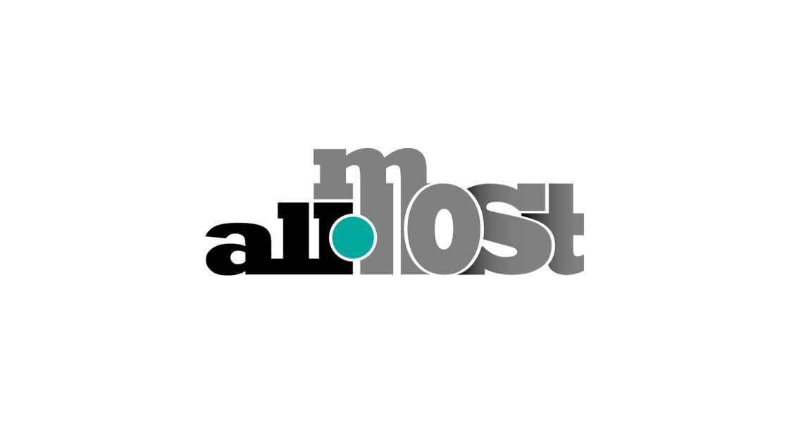 Логотип для новостного fashion сайта All-most