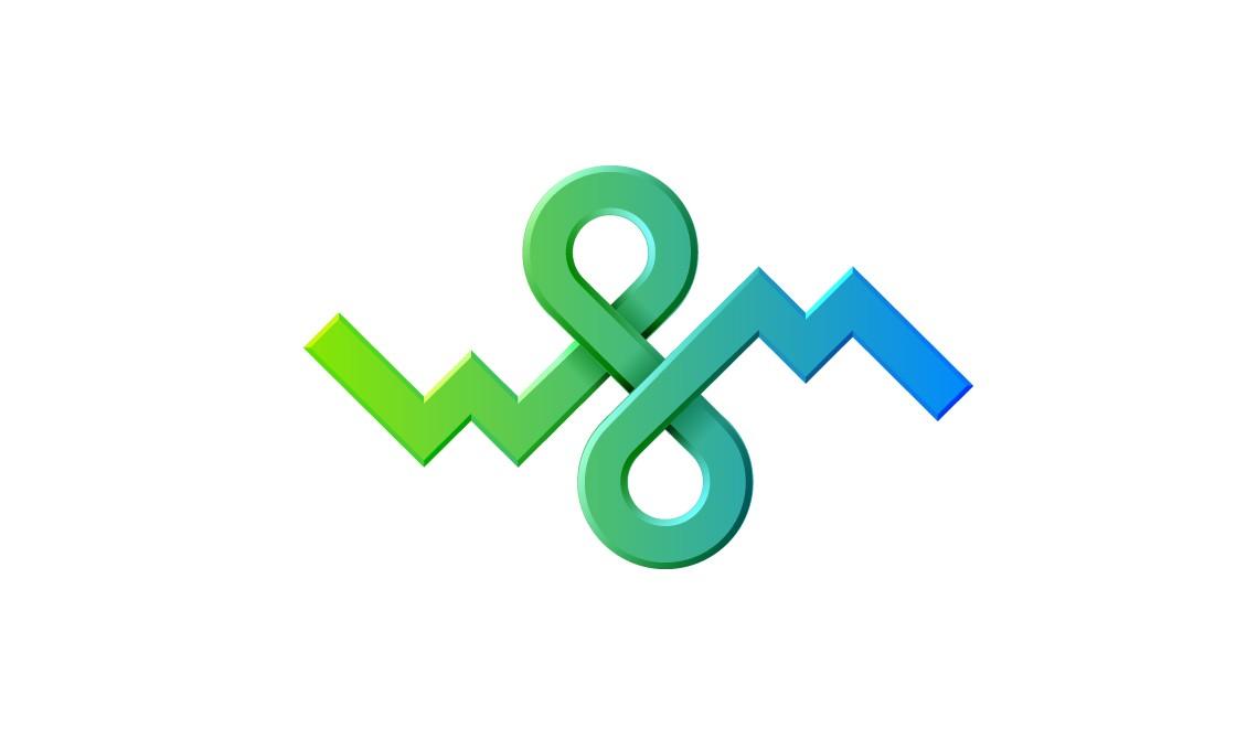 Логотип для девелопер web-студии  W8M
